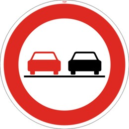 Dopravní značka B21a