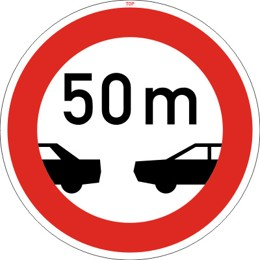 Dopravní značka B34