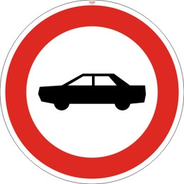 Dopravní značka B3b