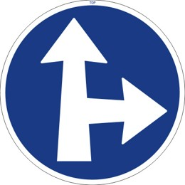 Dopravní značka C2d