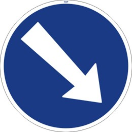 Dopravní značka C4a