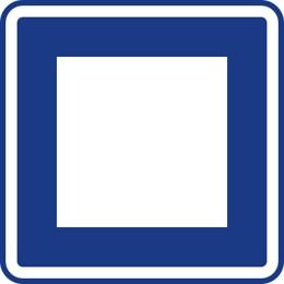 Dopravní značka IJ4a
