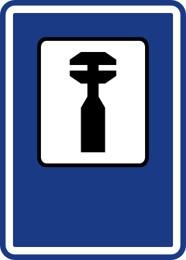 Dopravní značka IJ8