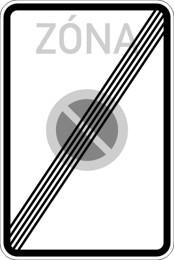 Dopravní značka IZ8b