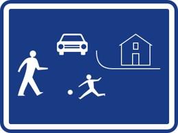 Dopravní značka IZ5a