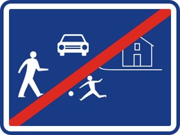 Dopravní značka IZ5b