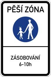 Dopravní značka IZ6a