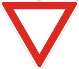 Dopravní značka P4
