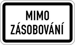 Dopravní značka E13