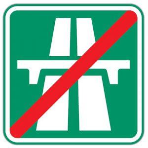 Dopravní značka IZ1b