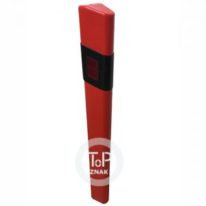 Dopravní zařízení Z11cd - silniční směrový sloupek plastový červený